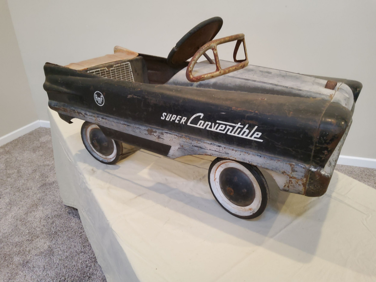 1954 AMF Super Convertible Pedal Car - Image 8