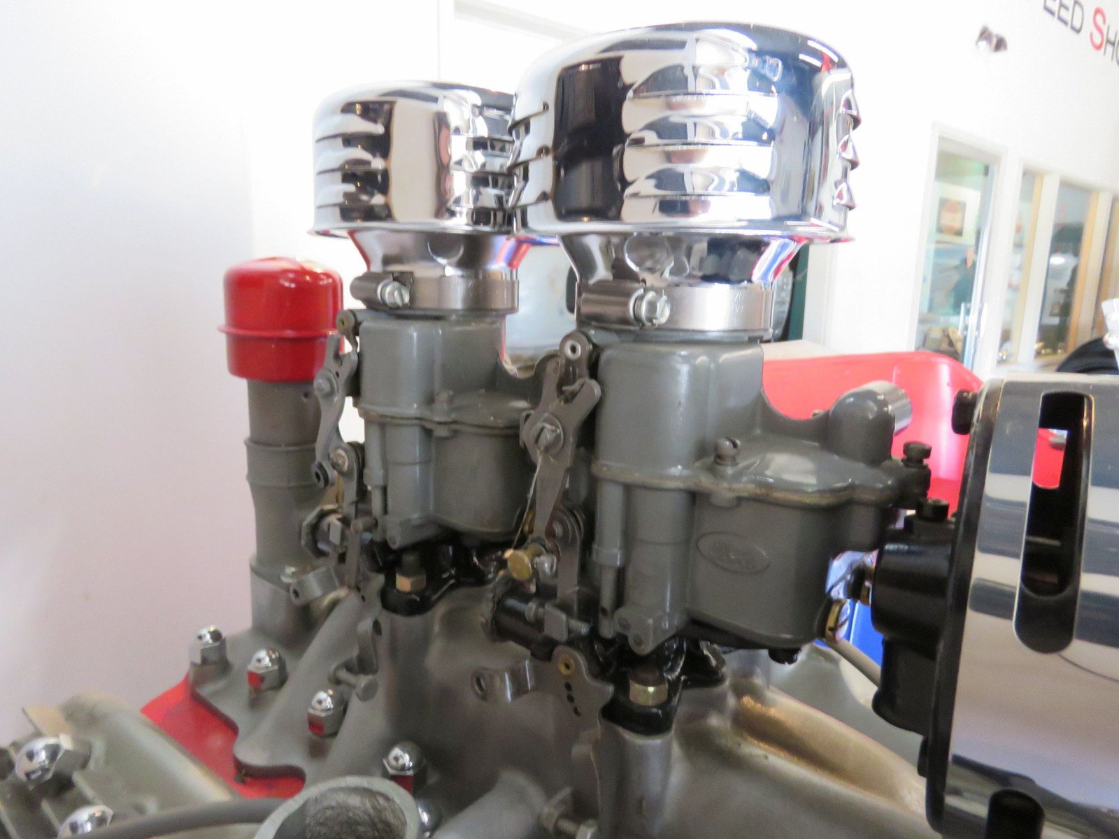Ford Flathead V8 on stand - Image 8
