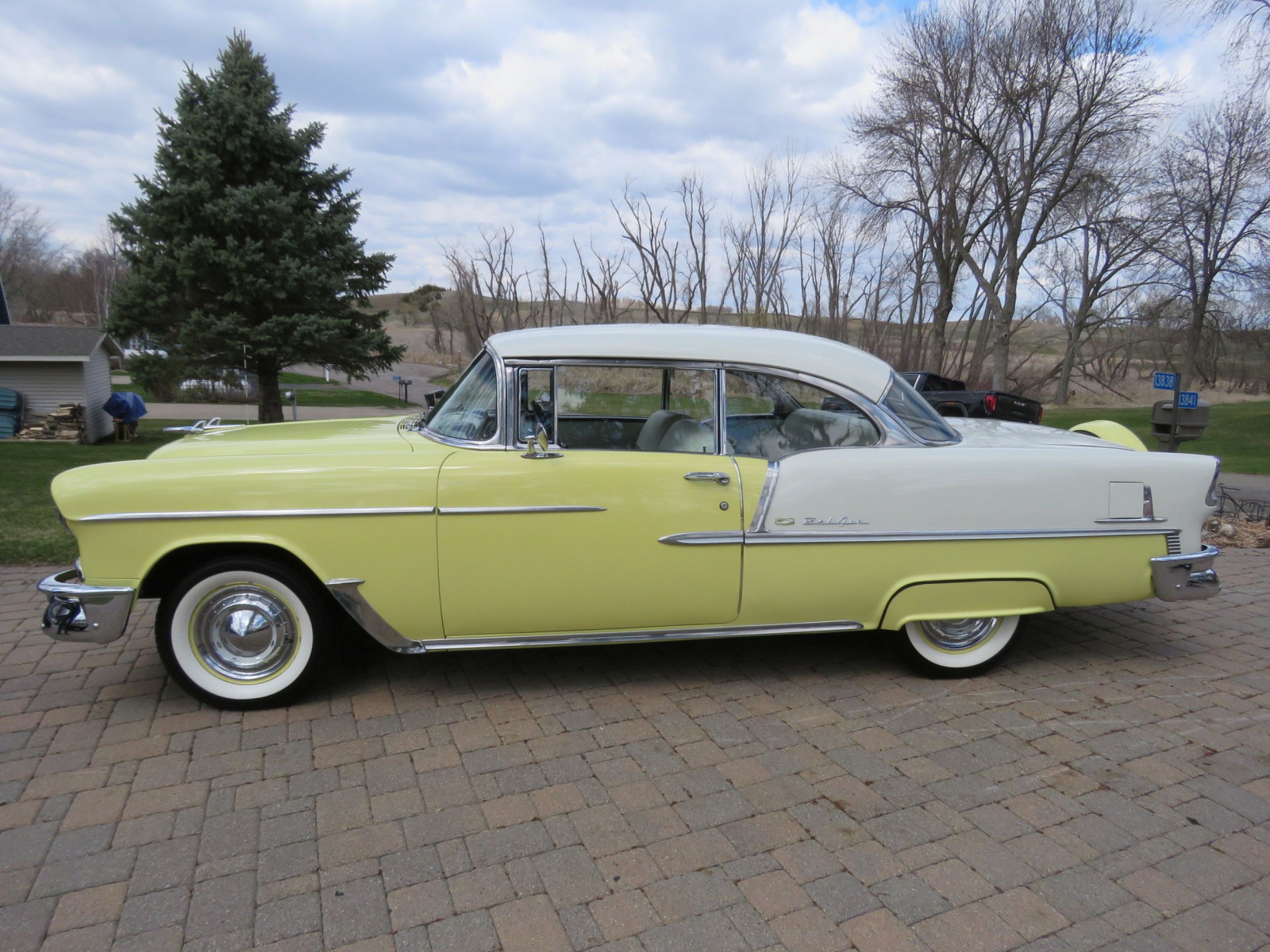 Beautiful 1955 Chevrolet Bel Air 2dr HT - Image 4