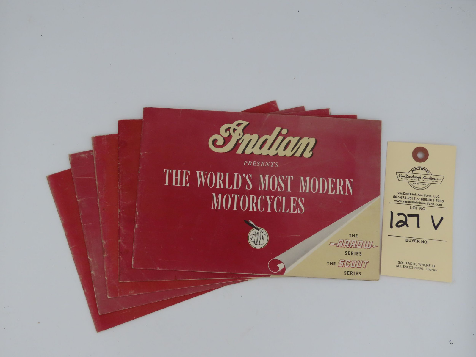Indian Presents The World's Most Modern Motorcycles dealer manual - Image 1