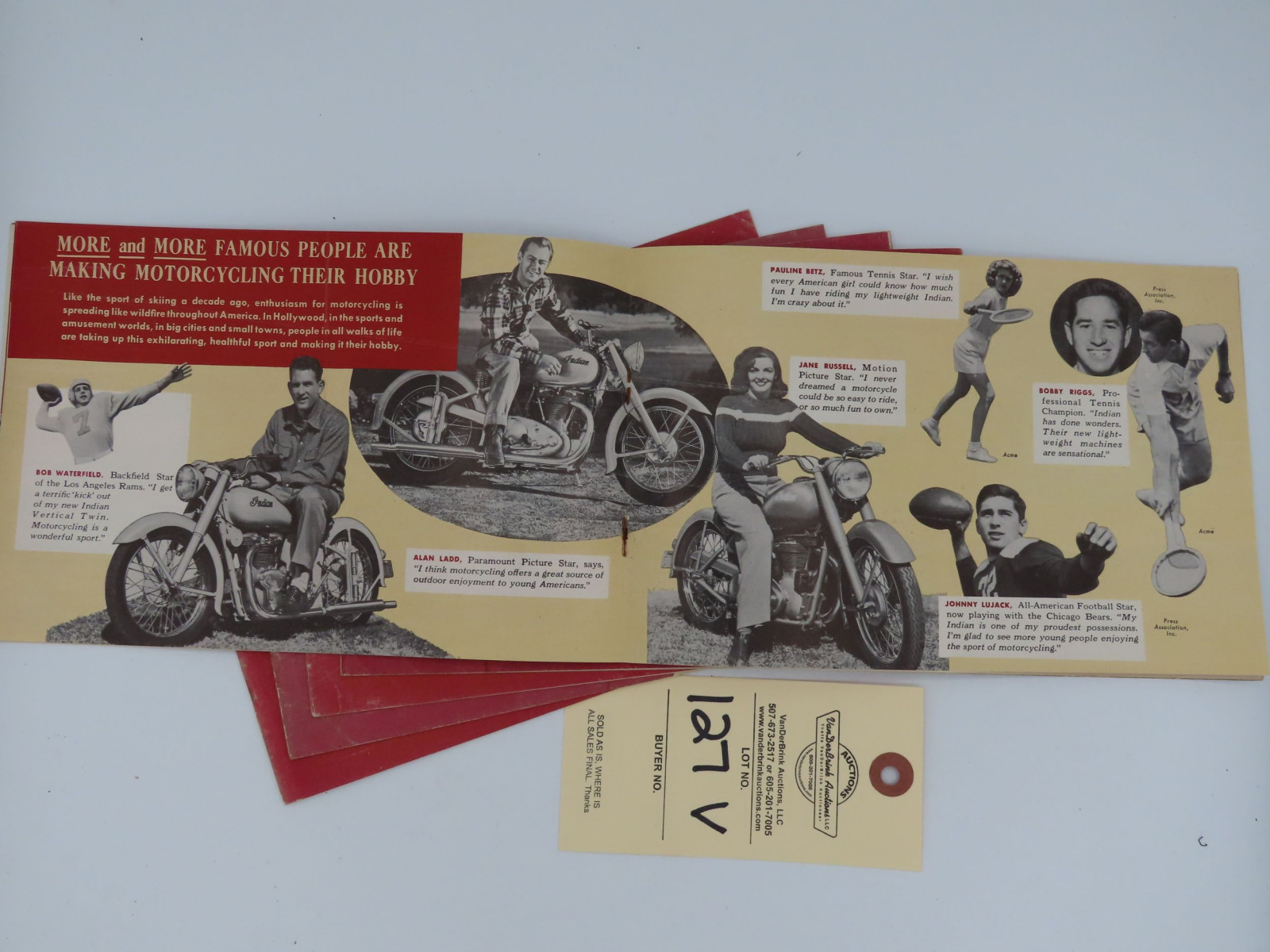 Indian Presents The World's Most Modern Motorcycles dealer manual - Image 2