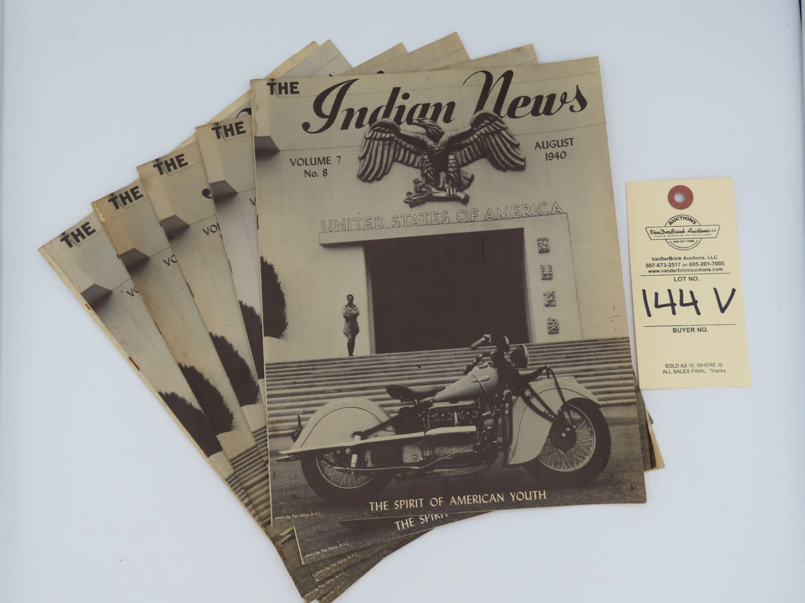 The Indian News - August 1940 - Image 1