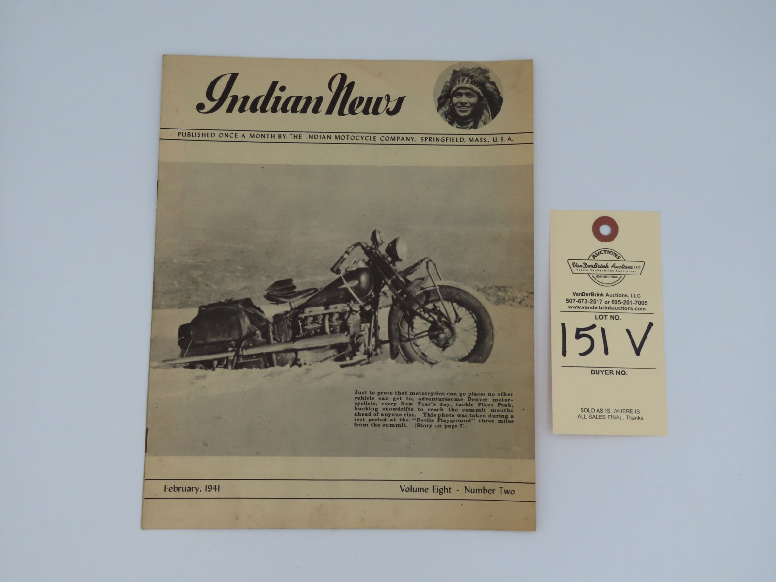 The Indian News - February 1941 - Image 1