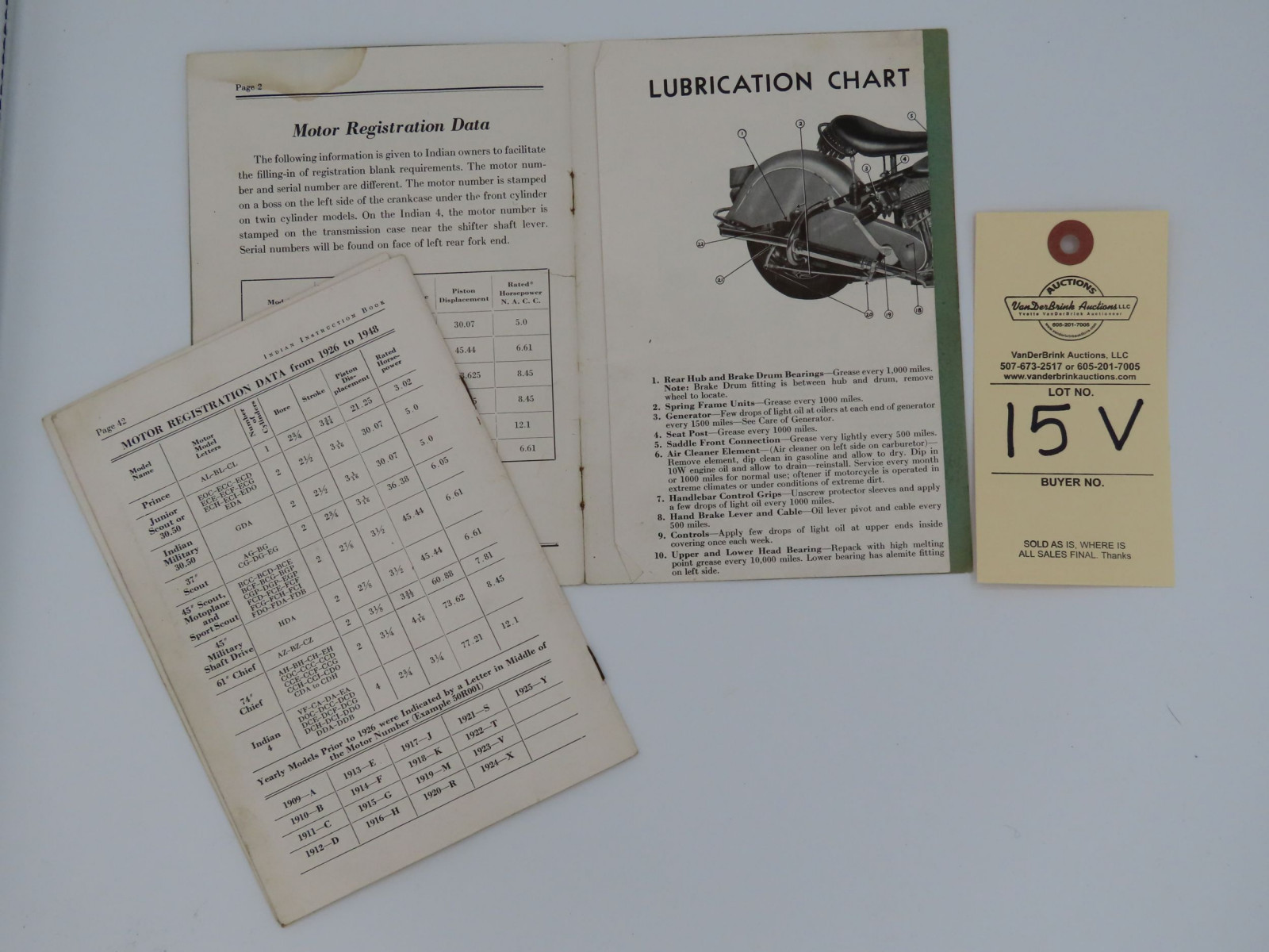 Indian Riders' Instruction Book - Image 3