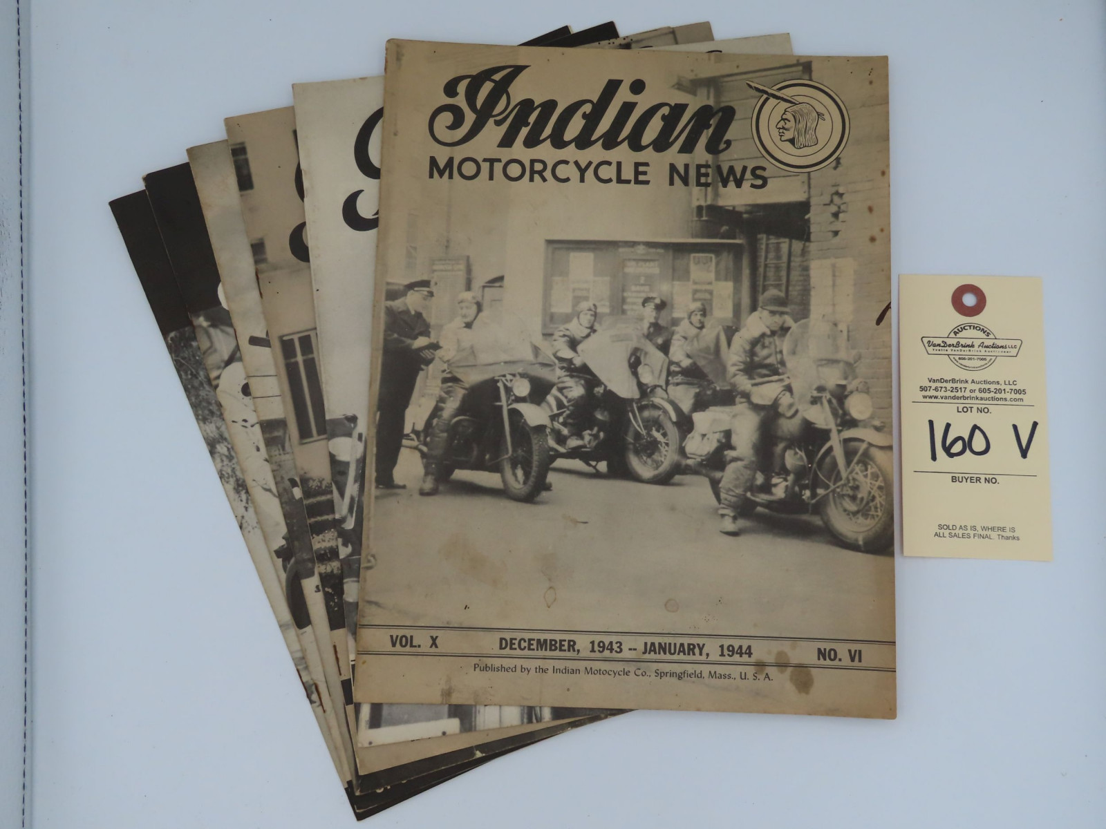 Indian Motorcycle News - 1944 - Image 1