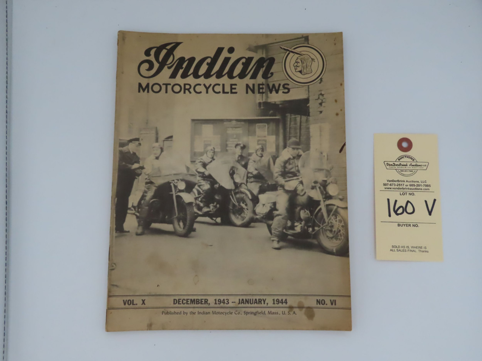 Indian Motorcycle News - 1944 - Image 2