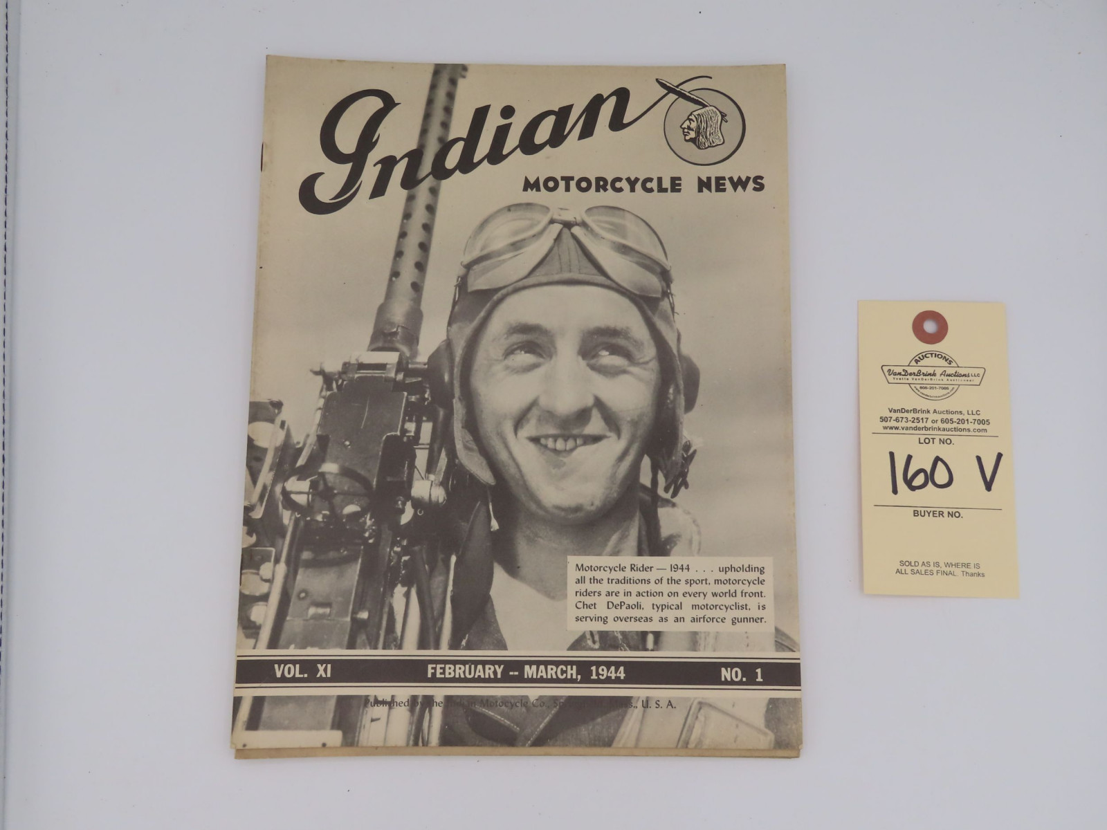 Indian Motorcycle News - 1944 - Image 3
