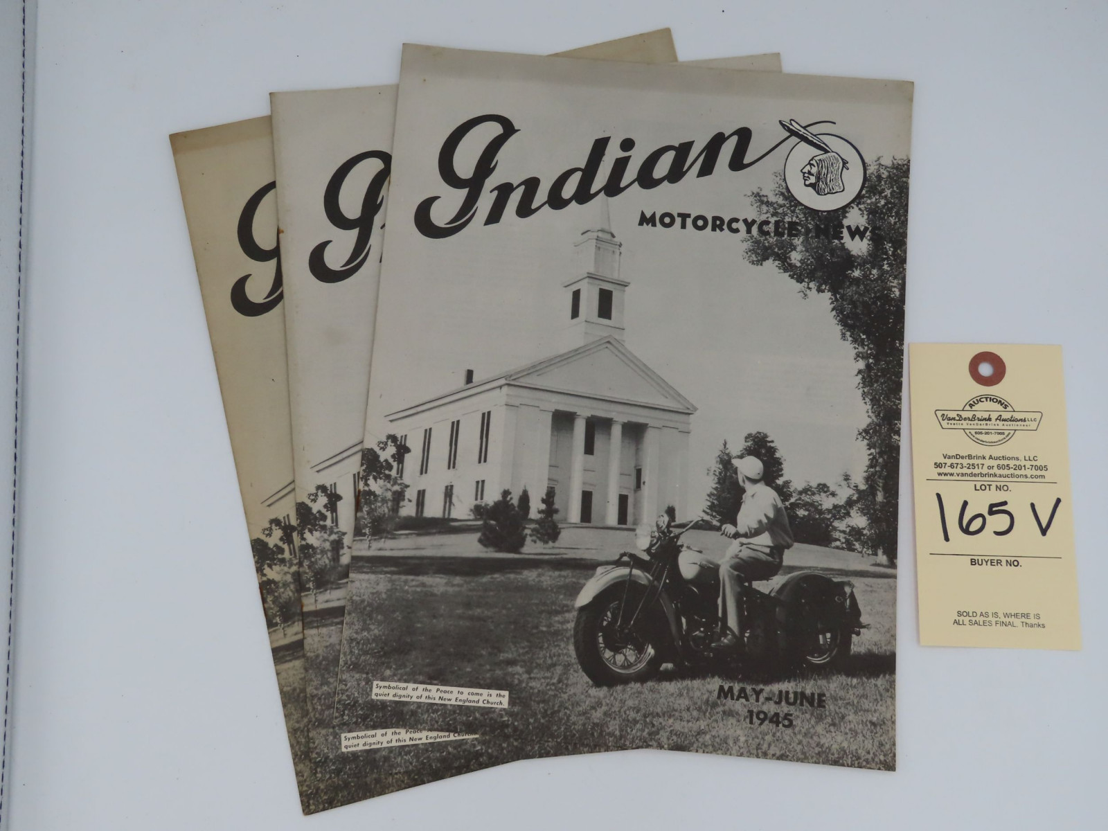 Indian Motorcycle News - May-June 1945 - Image 1