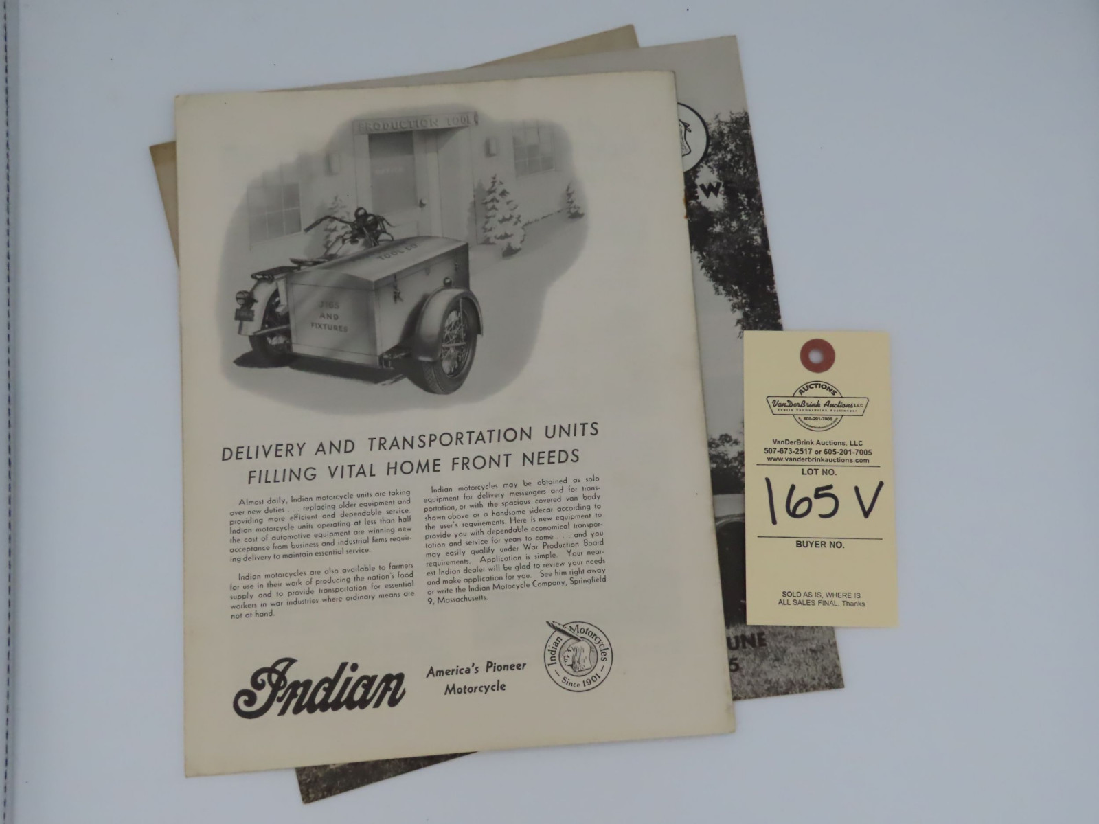 Indian Motorcycle News - May-June 1945 - Image 3
