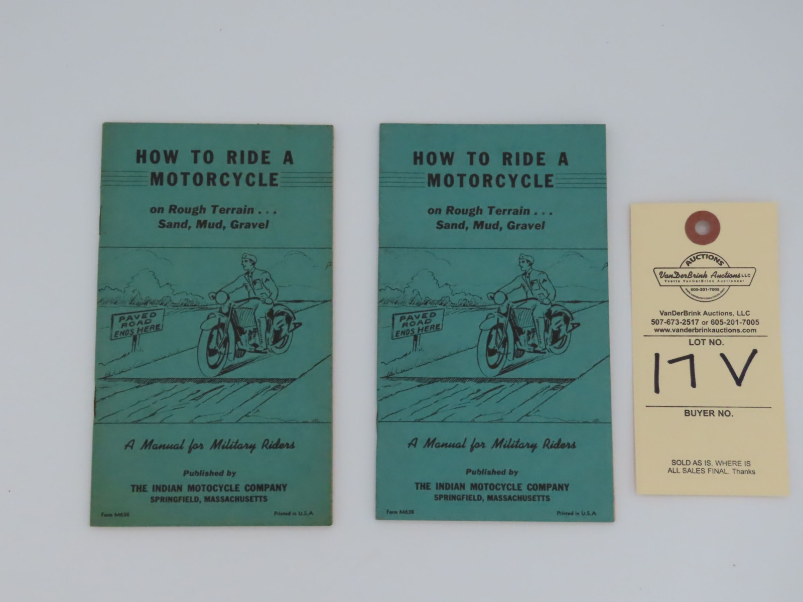 Indian - How to Ride a Motorcycle - Image 1