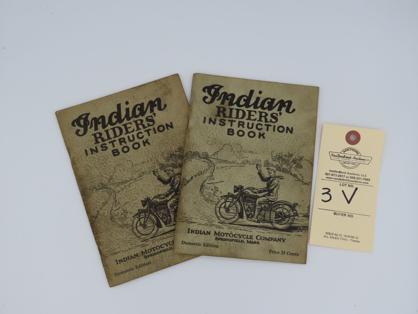 Indian Riders; Instruction Book - Image 1