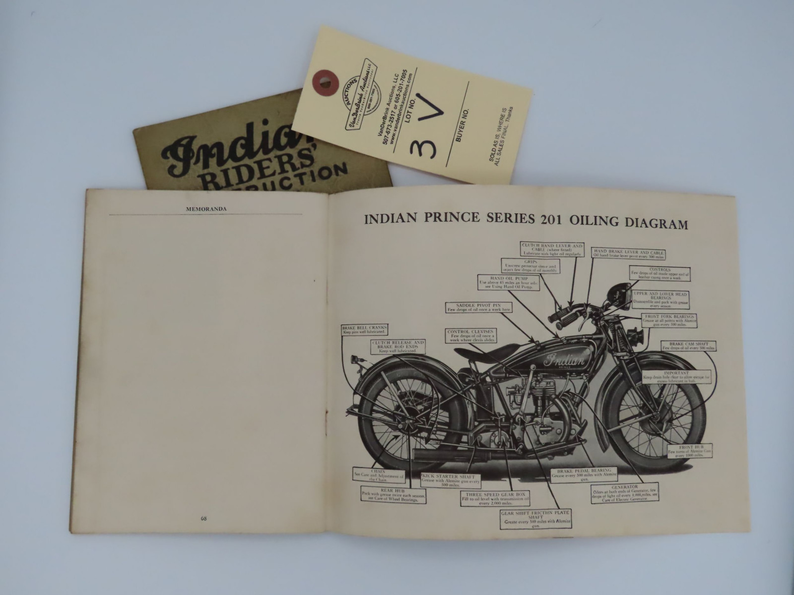Indian Riders; Instruction Book - Image 2