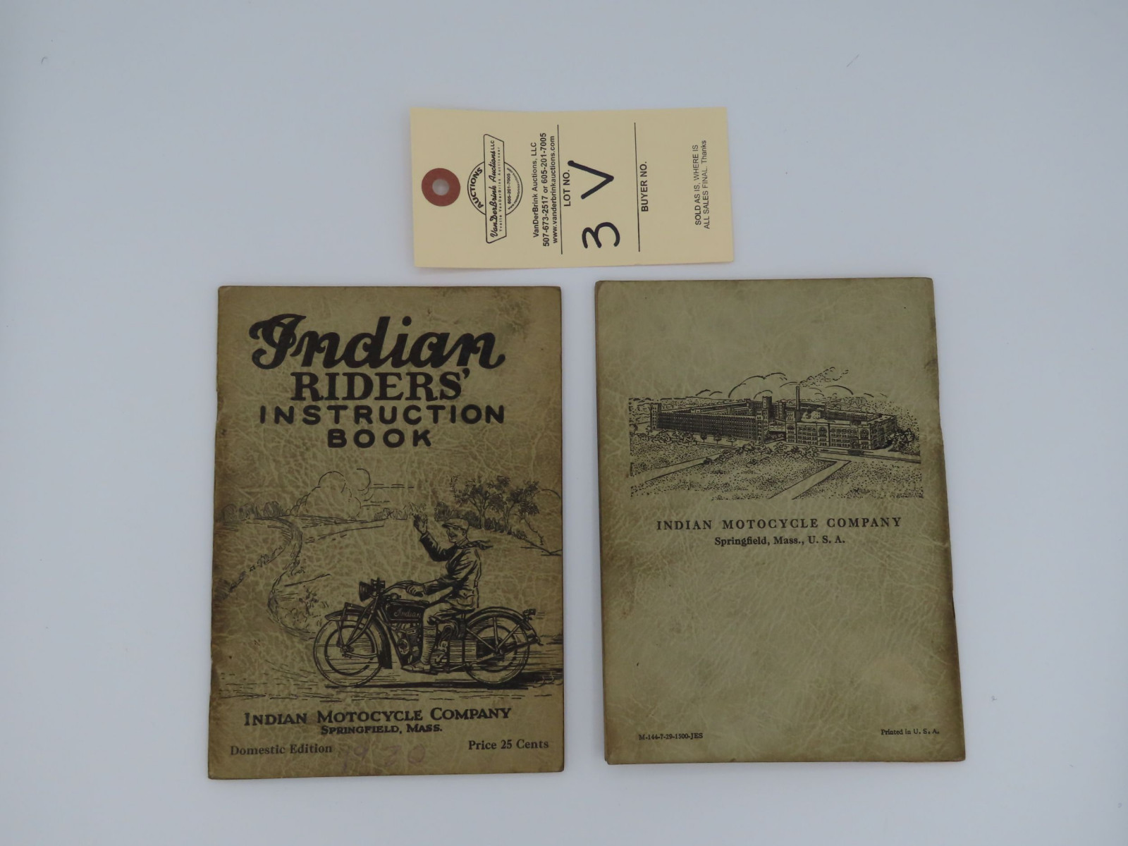 Indian Riders; Instruction Book - Image 3