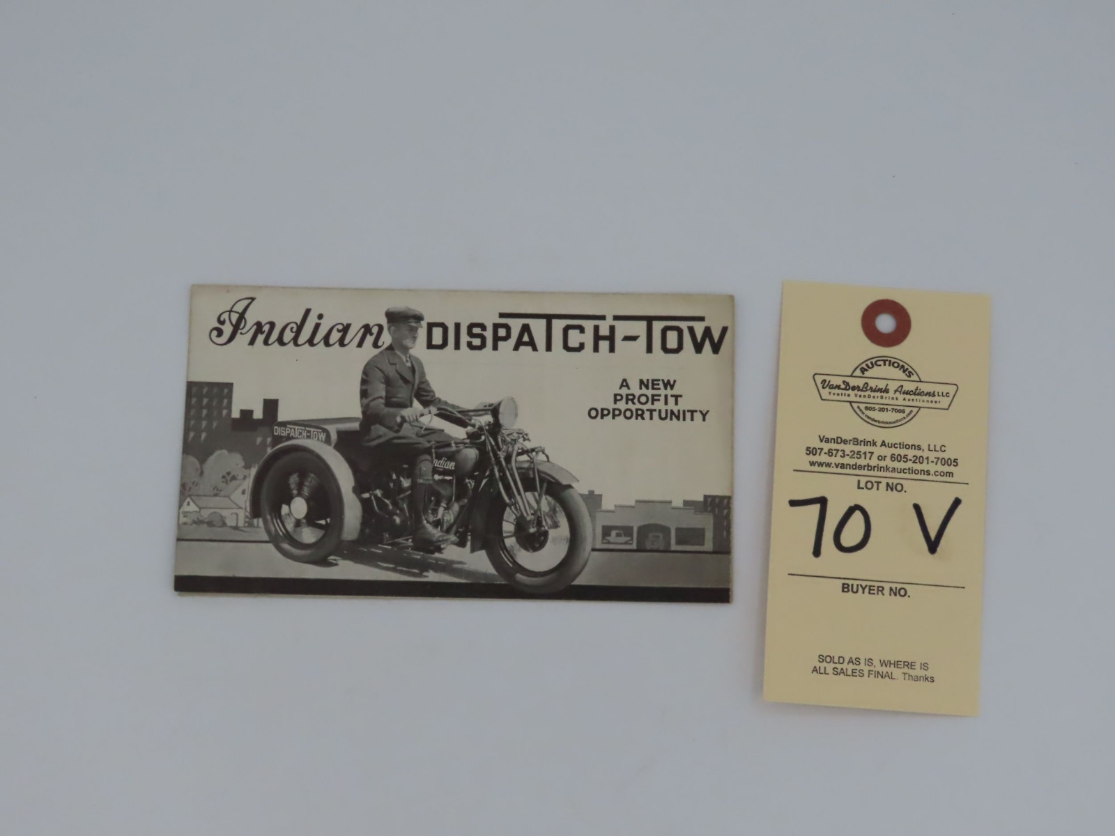 Indian Dispatch - Tow Brochure - Image 1