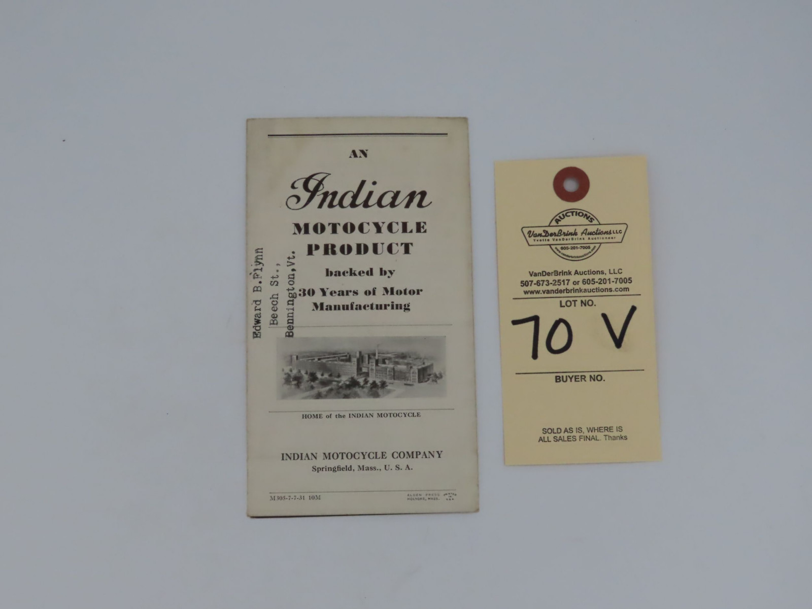 Indian Dispatch - Tow Brochure - Image 3