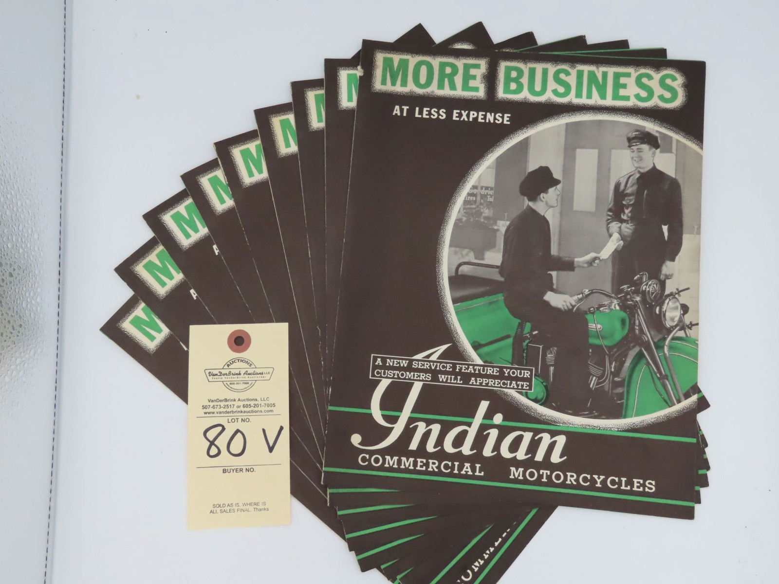 Indian Commercial Motorcycles advertising - Image 1