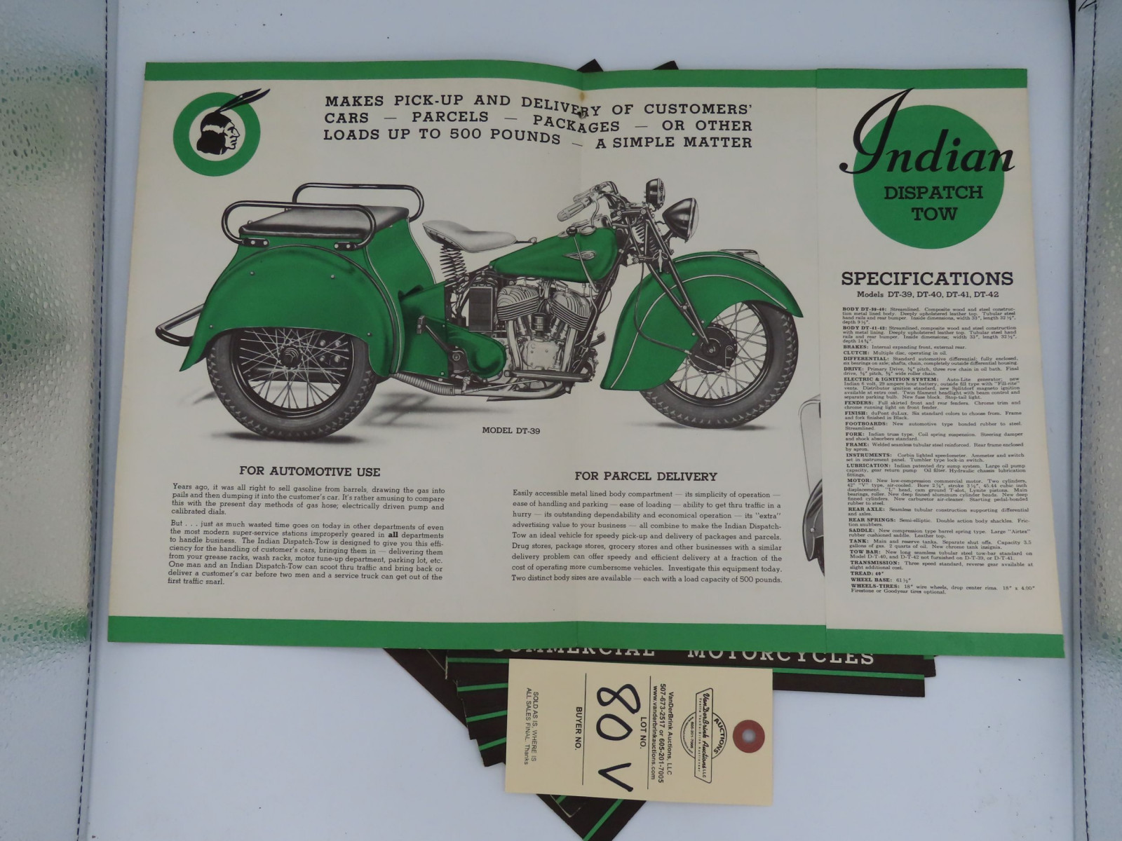 Indian Commercial Motorcycles advertising - Image 2