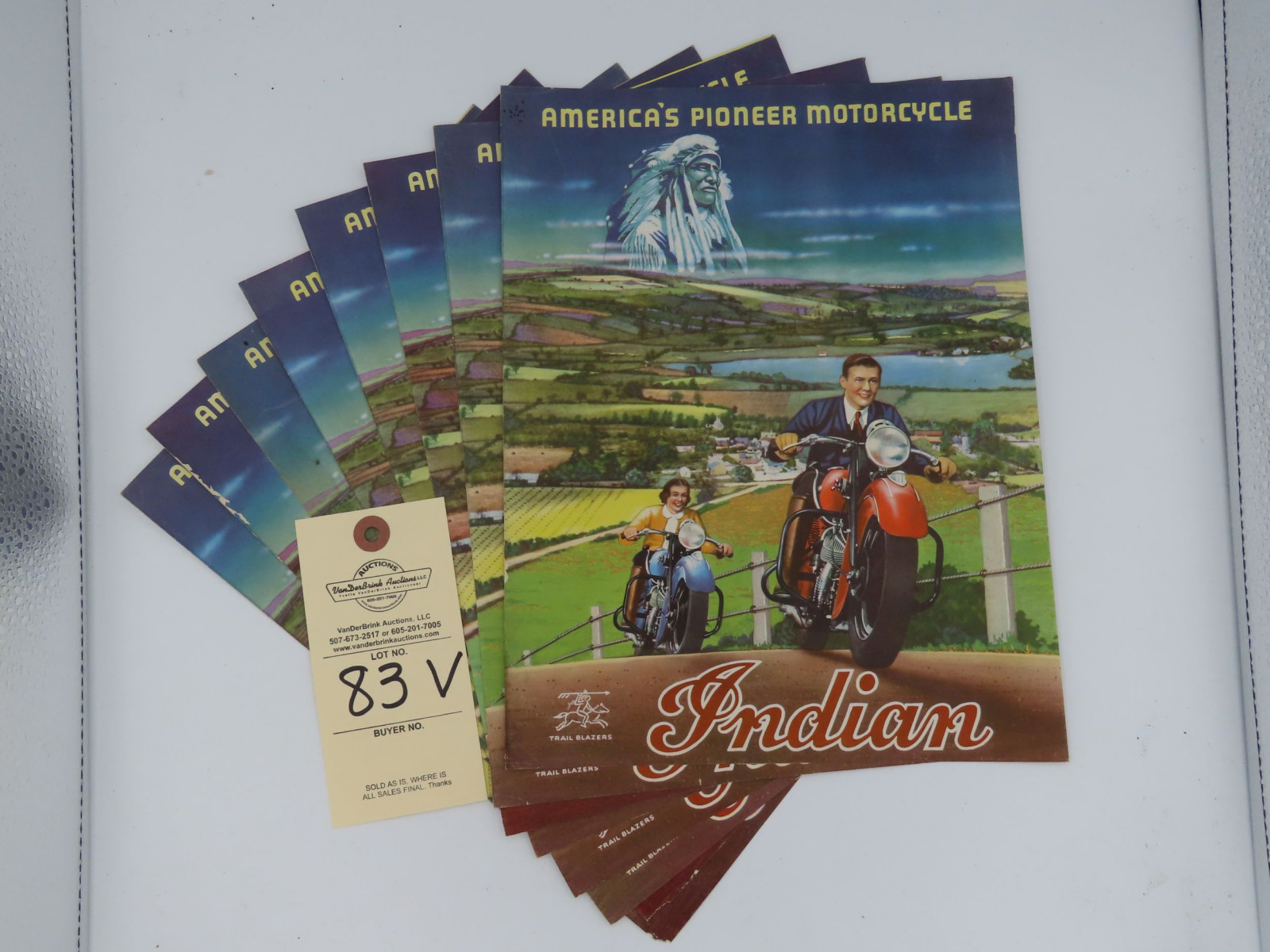 Indian Motorcycle advertising - Image 1