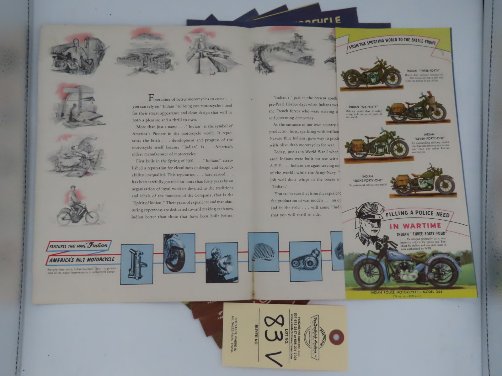 Indian Motorcycle advertising - Image 2