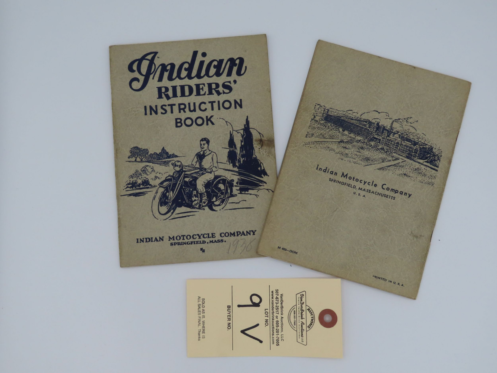 1938 Indian Riders' Instruction Book - Image 3