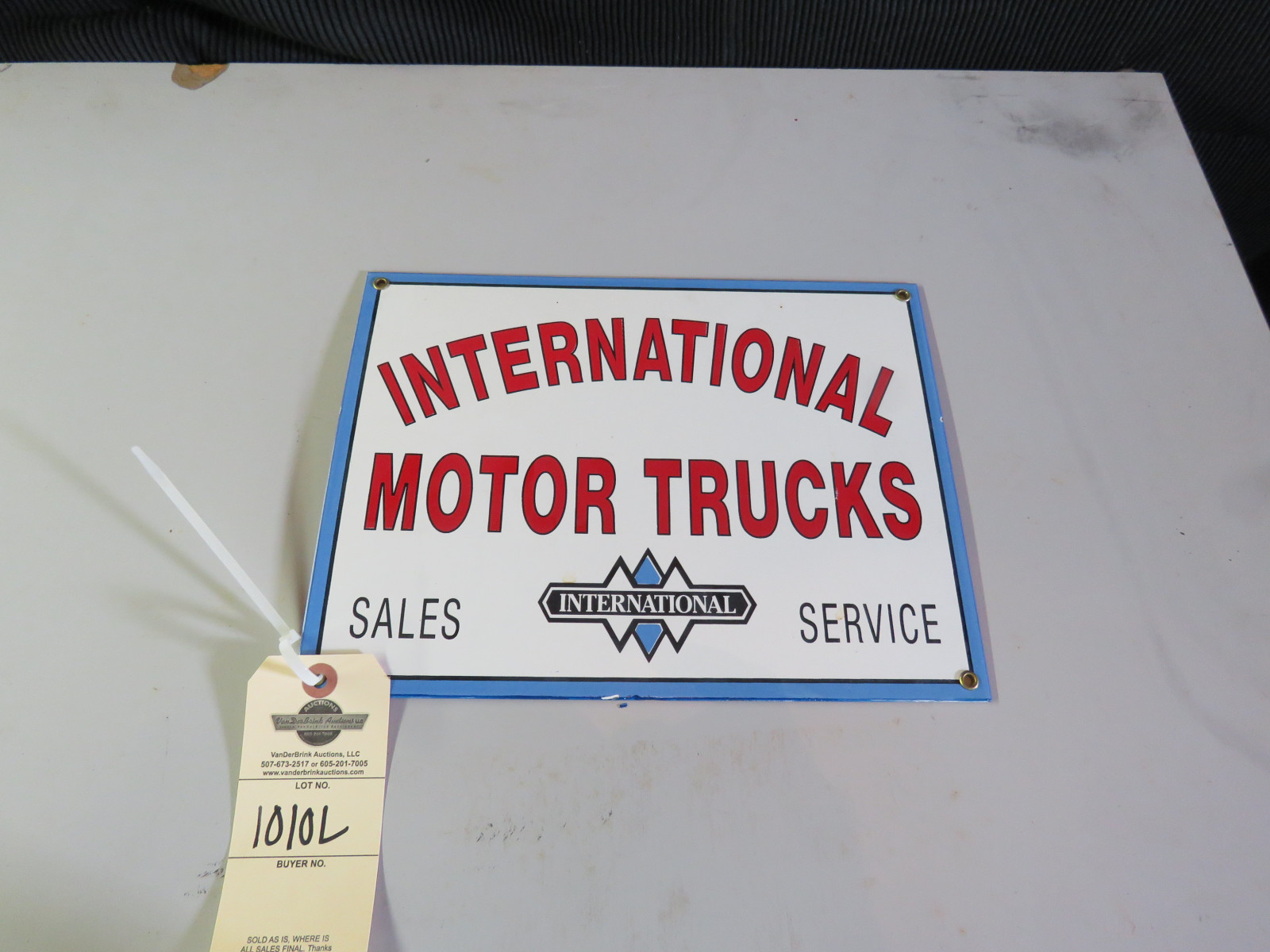 Reproduction International Sign - Image 1