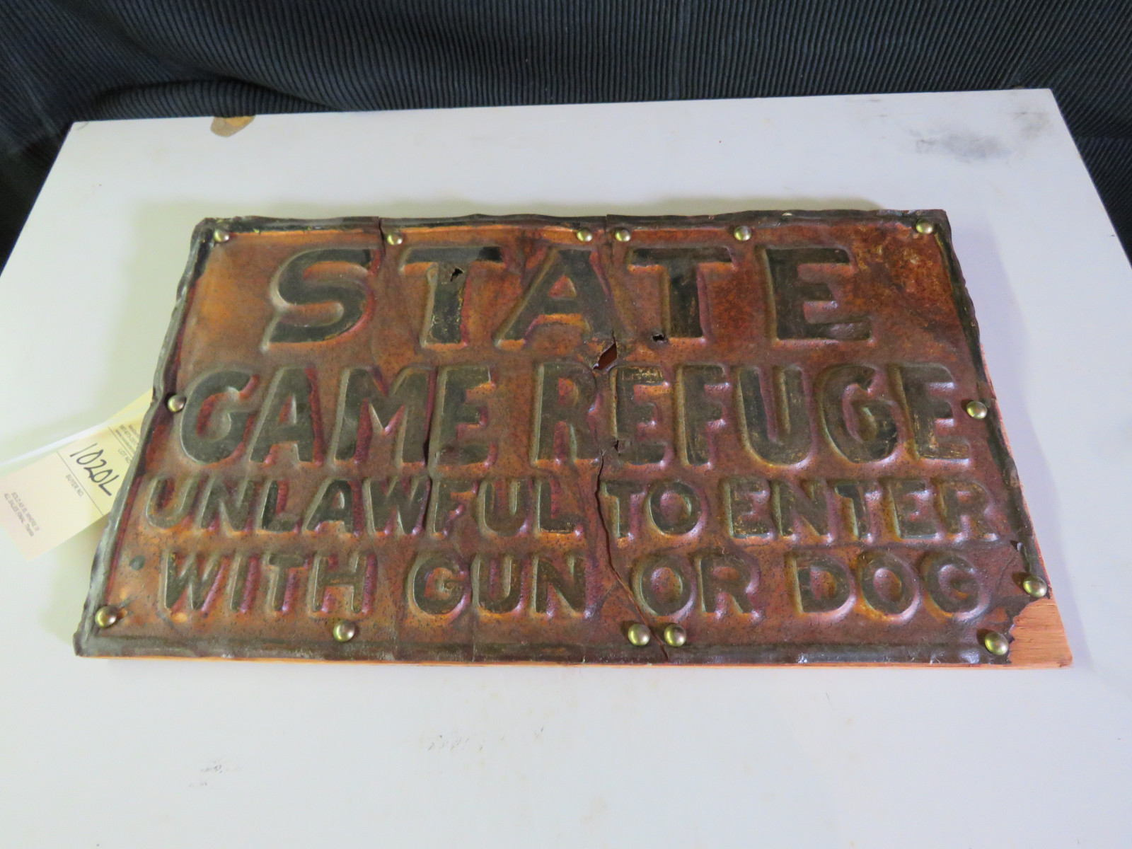 State Game Refuge Sign - Image 1