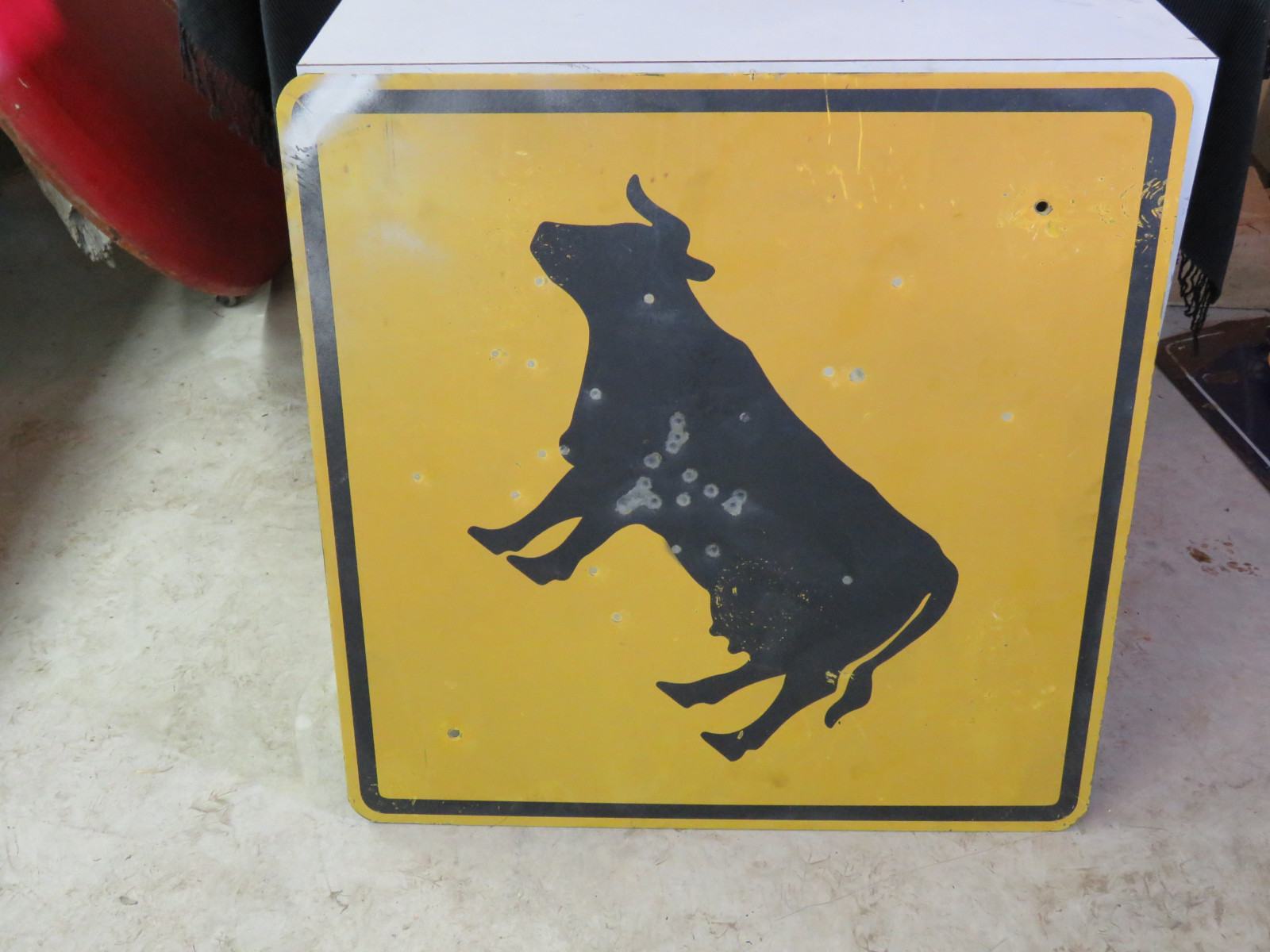 Cattle Crossing sign - Image 2