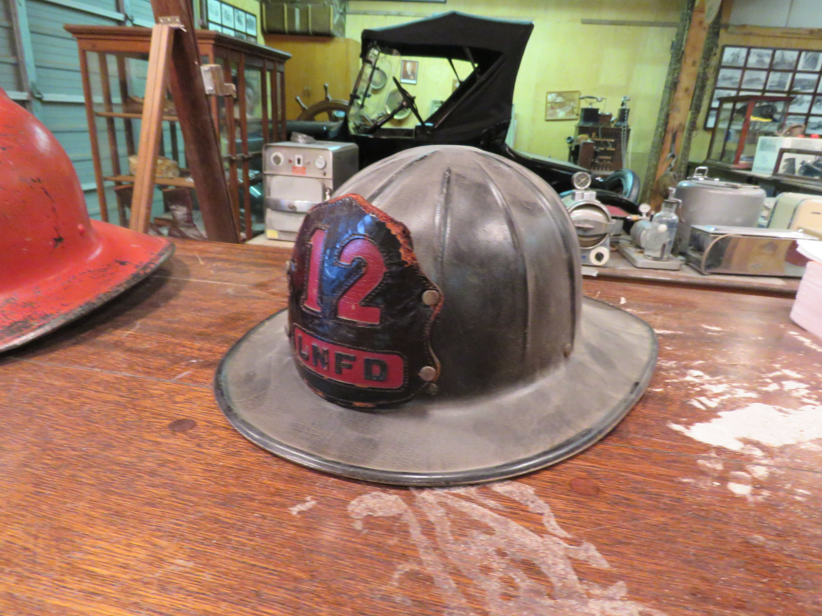 Vintage Fire Chief Helmets - Image 1