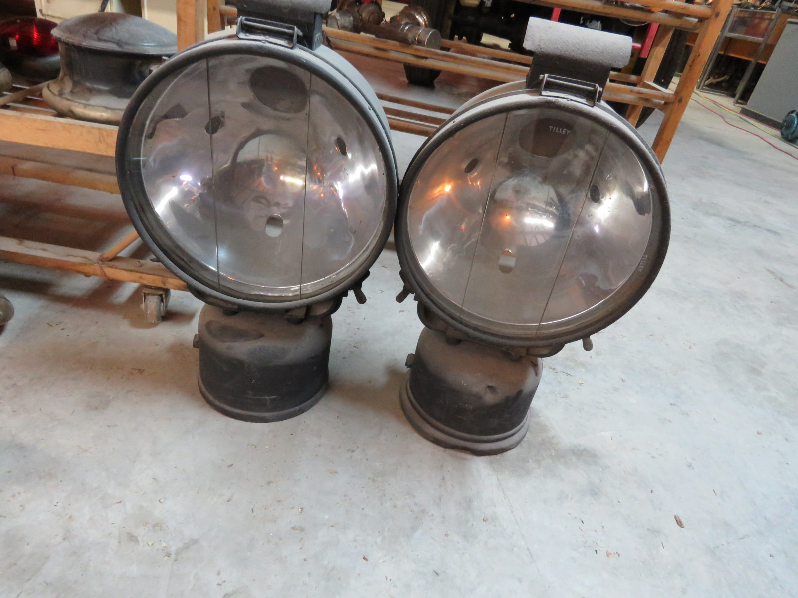 Steam Tractor Lights - Image 1