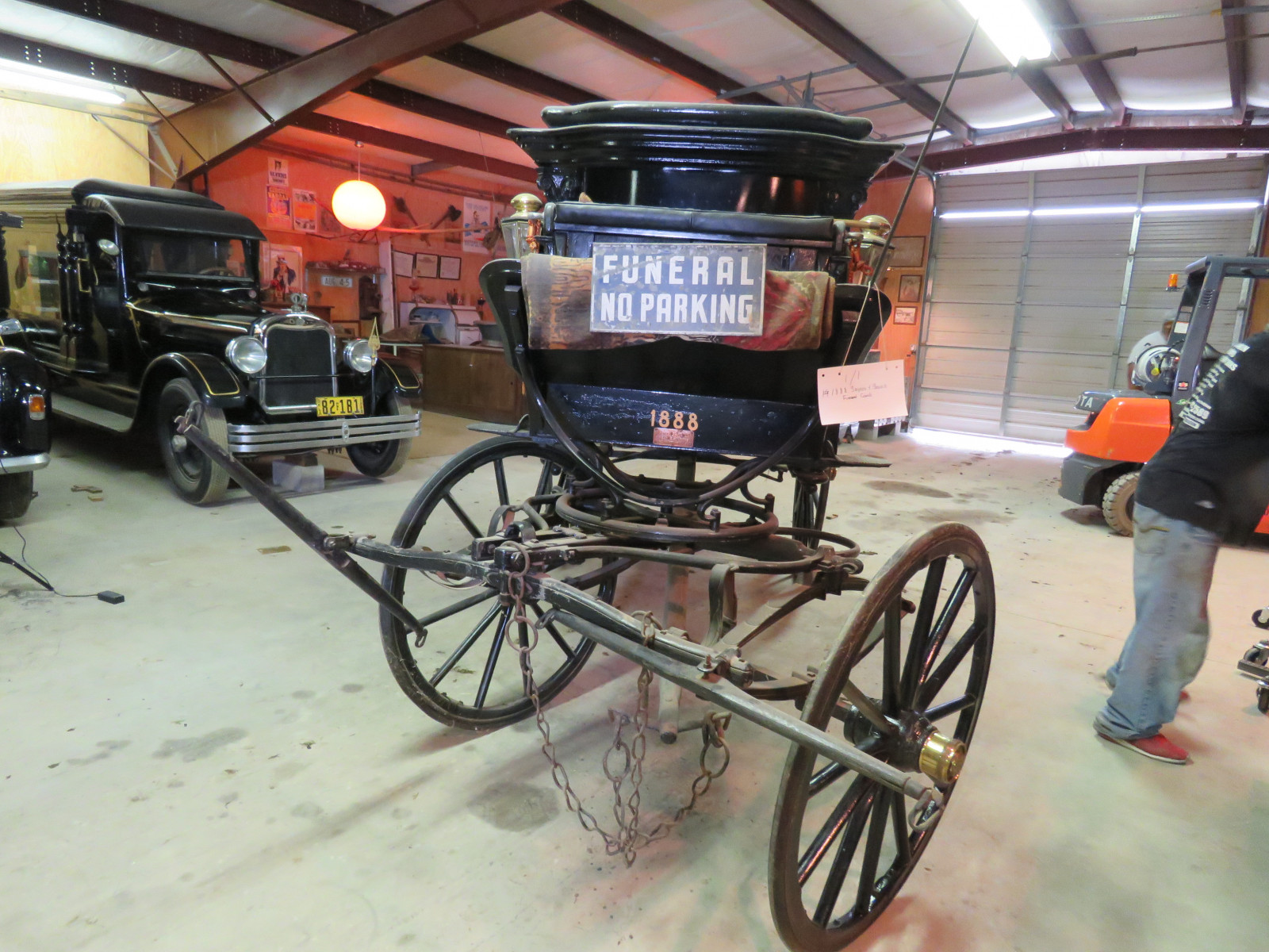 1988 Sayers & Scovill Horse Drawn Hearse - Image 3