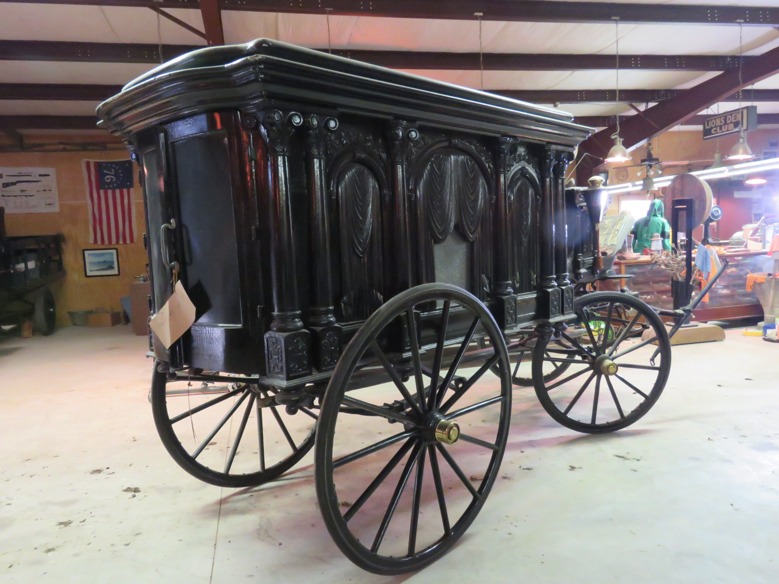 1988 Sayers & Scovill Horse Drawn Hearse - Image 6