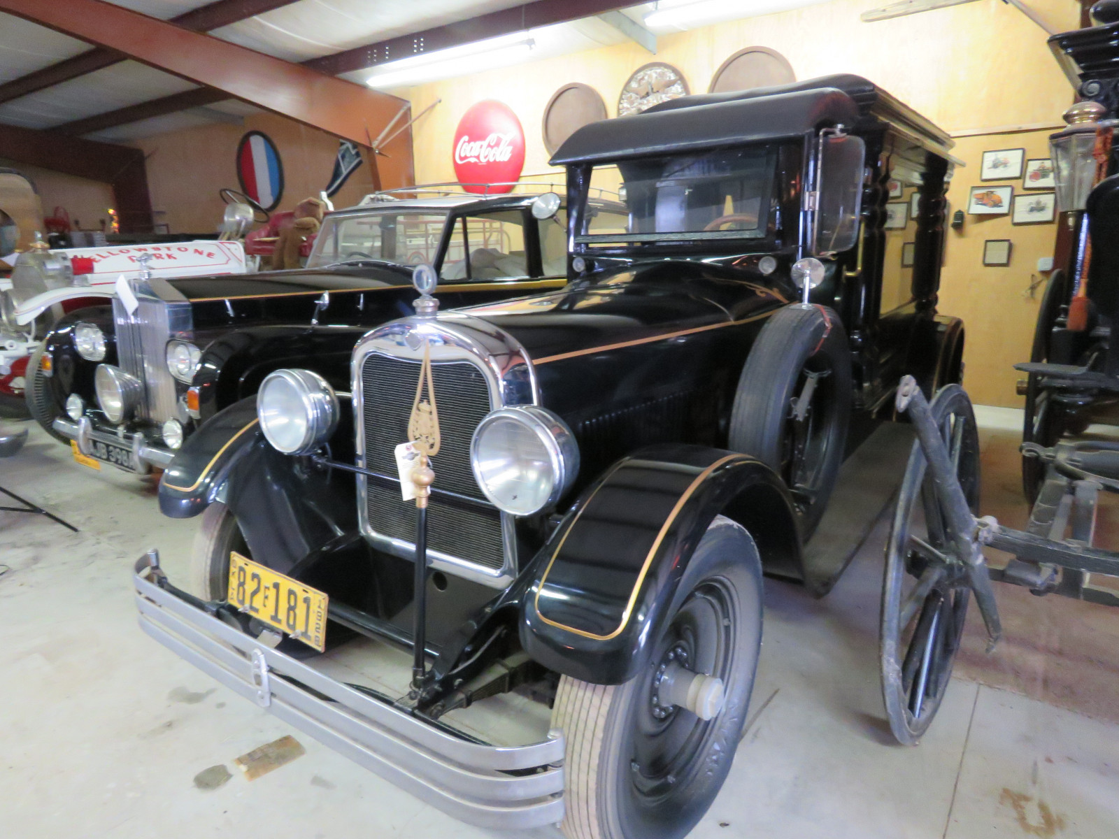 Rare 1928 Henney Hearse - Image 2