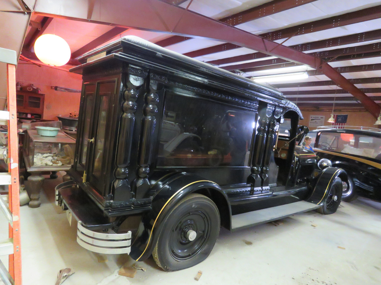 Rare 1928 Henney Hearse - Image 5