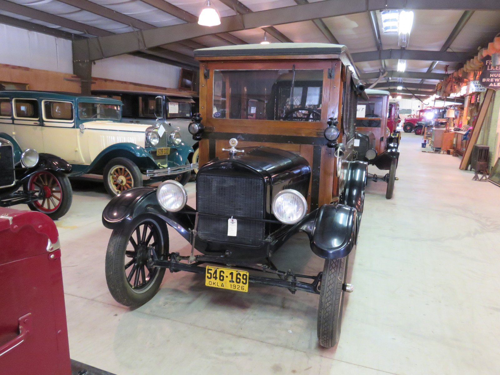 1926 Ford Model T Mail Truck - Image 2