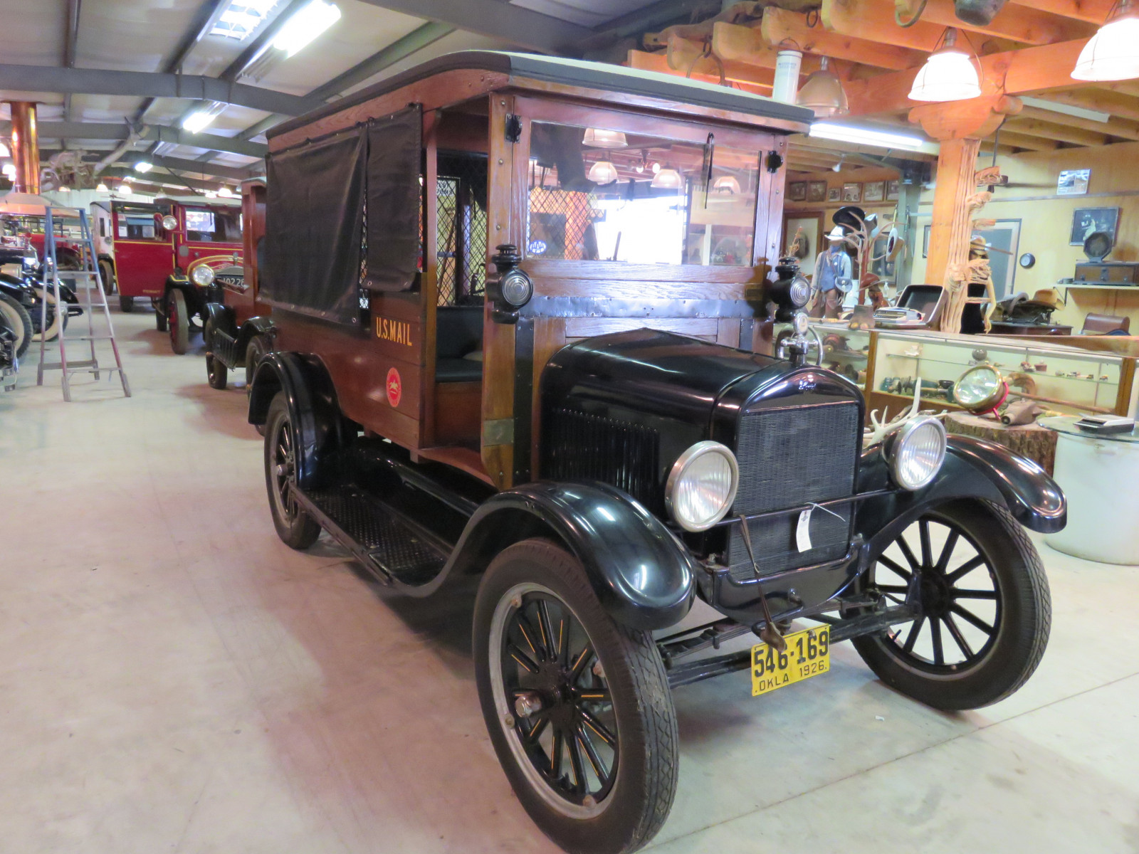1926 Ford Model T Mail Truck - Image 3