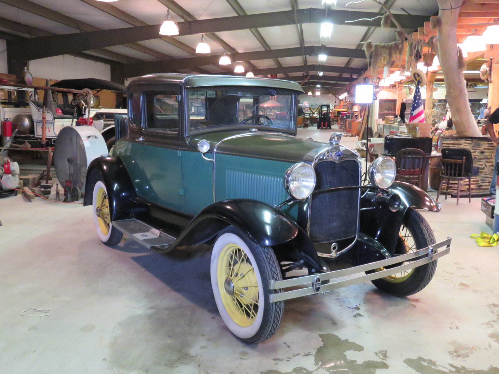 1930 Ford Model A Rumble Seat Coupe - Image 1