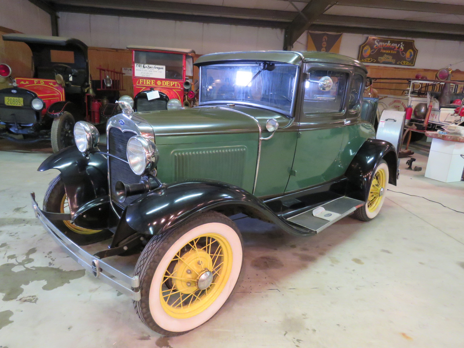 1930 Ford Model A Rumble Seat Coupe - Image 3