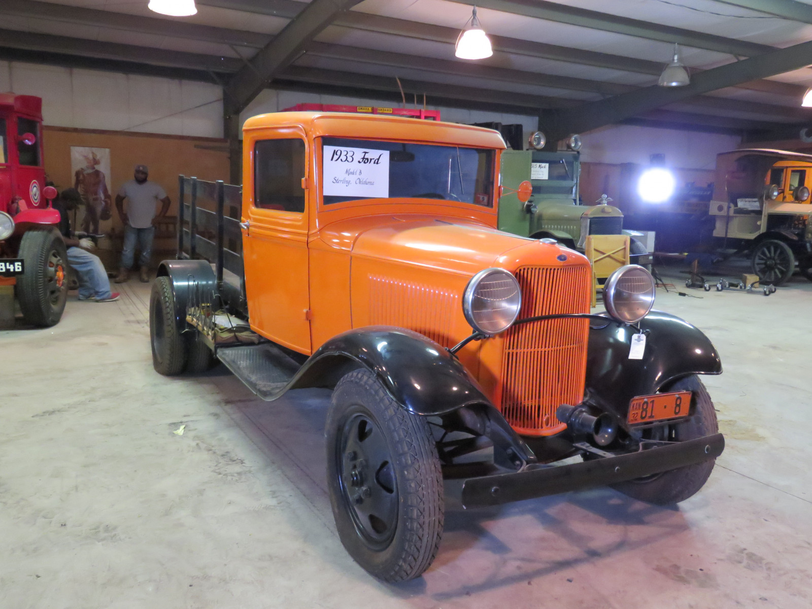 1932 1/2 Ford Model B Stake Bed Truck - Image 1