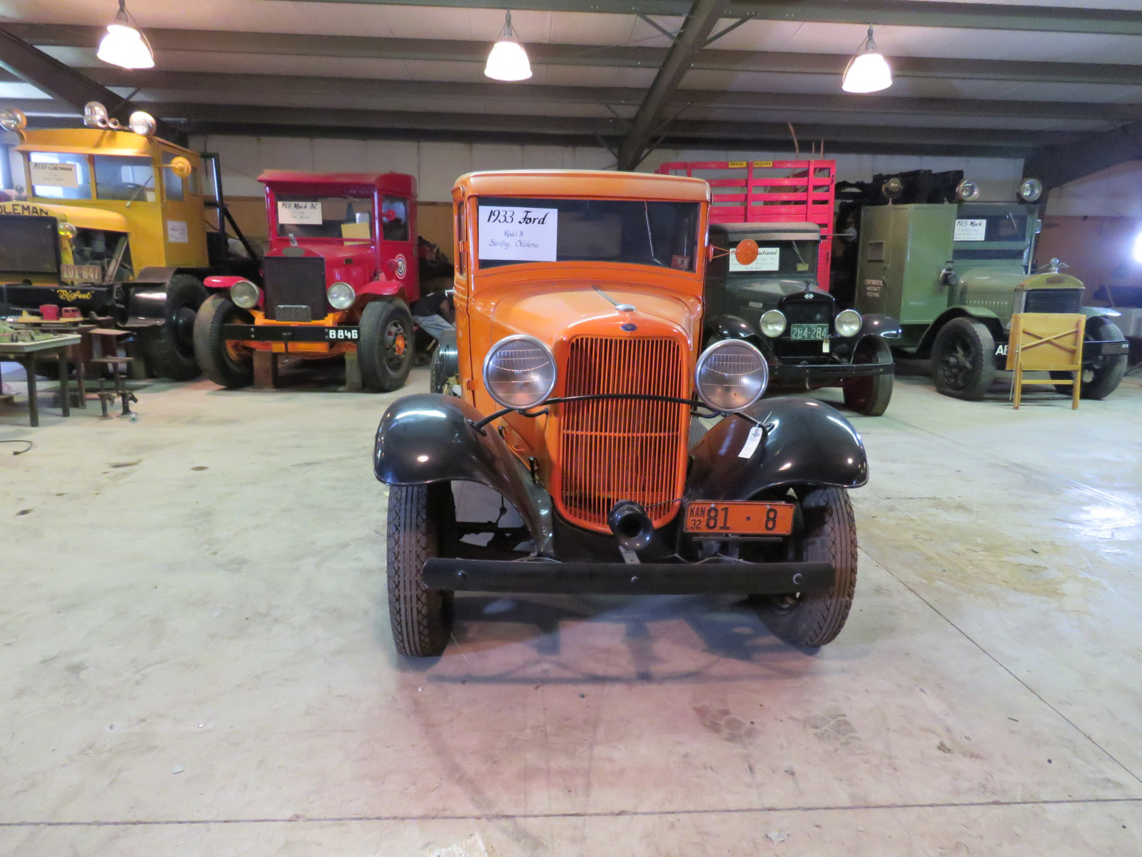1932 1/2 Ford Model B Stake Bed Truck - Image 2