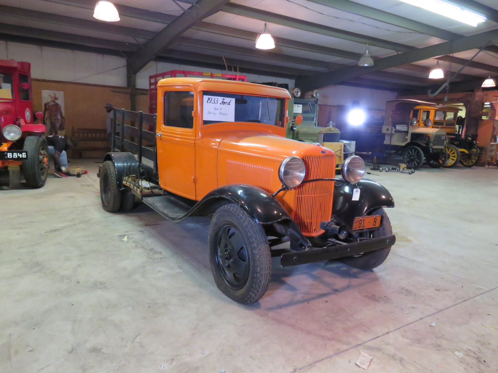 1932 1/2 Ford Model B Stake Bed Truck - Image 6