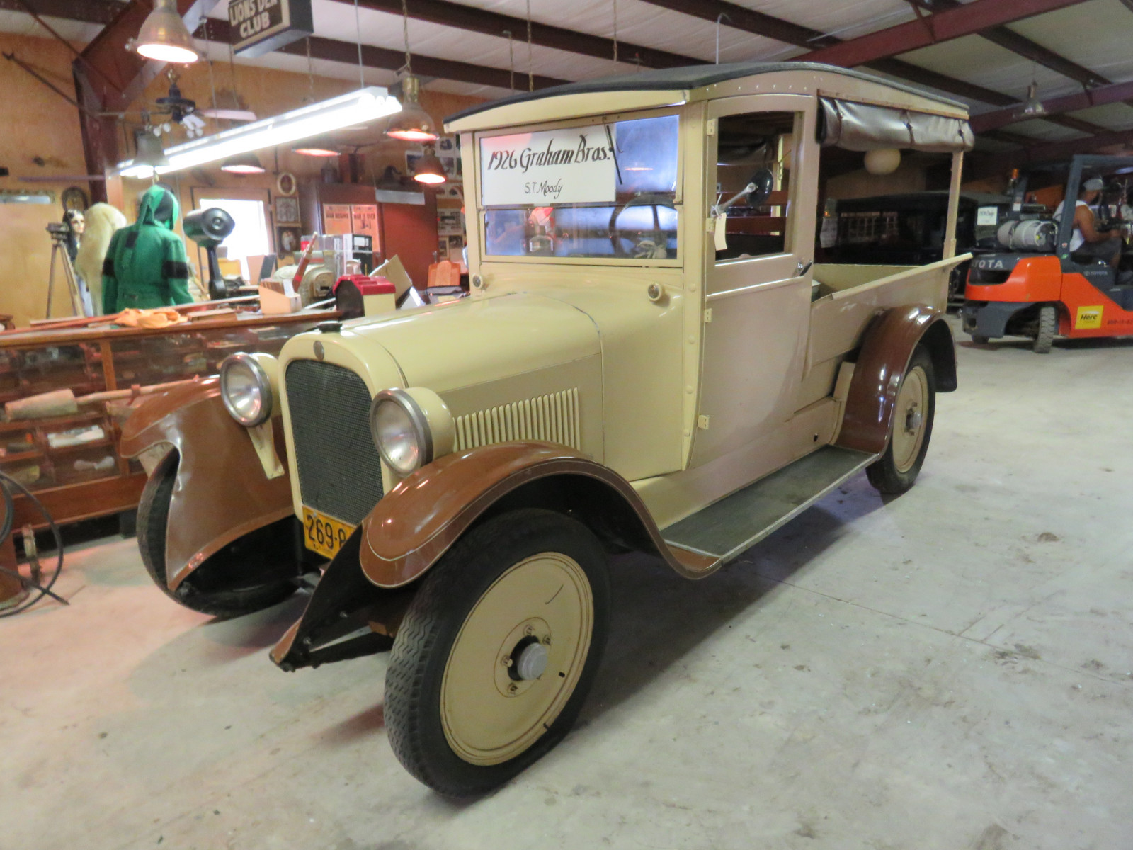 1929 dodge Brothers-Graham Canopy Express Truck - Image 1