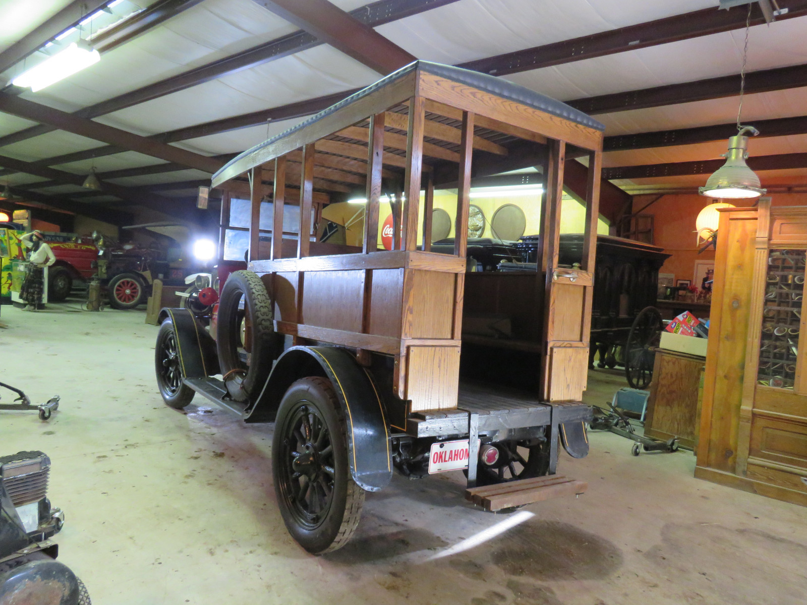 Rare 1920 REO Speedwagon Canopy Express Truck - Image 10