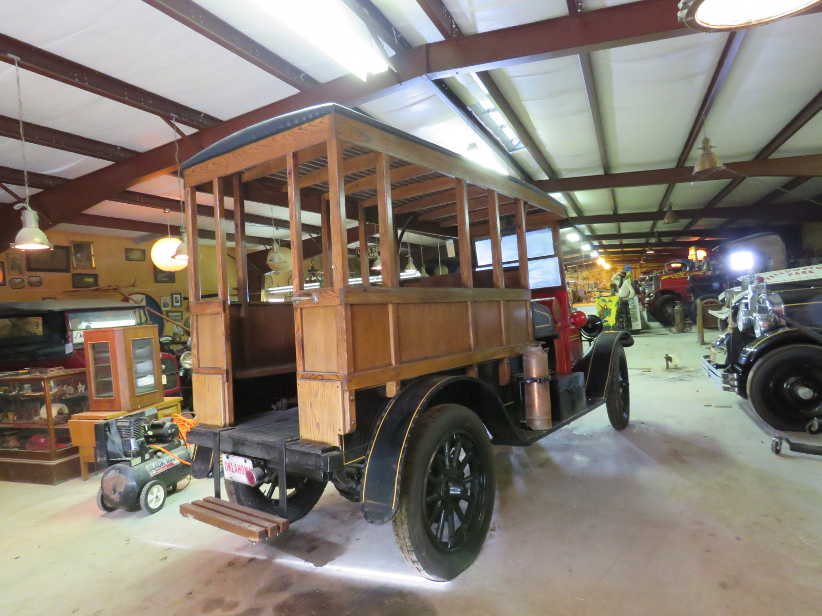 Rare 1920 REO Speedwagon Canopy Express Truck - Image 12