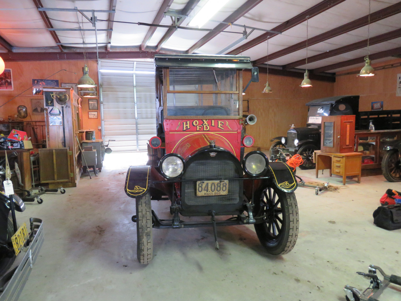 Rare 1920 REO Speedwagon Canopy Express Truck - Image 2