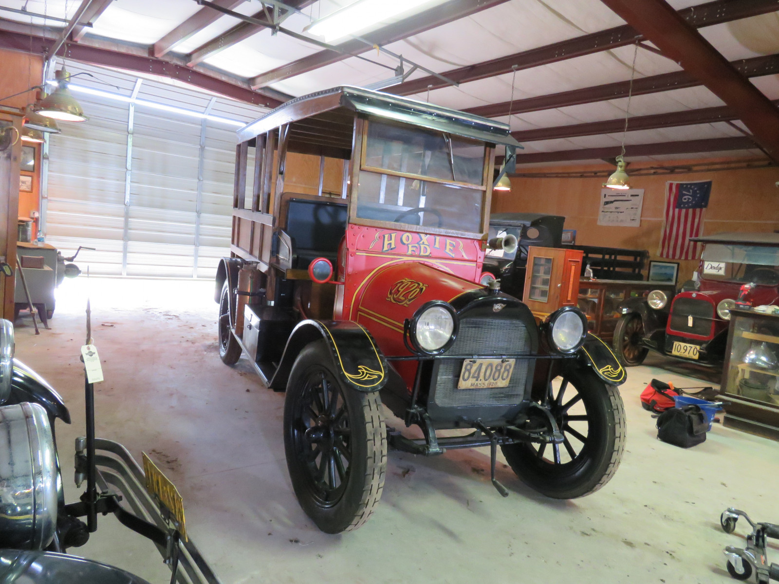 Rare 1920 REO Speedwagon Canopy Express Truck - Image 3