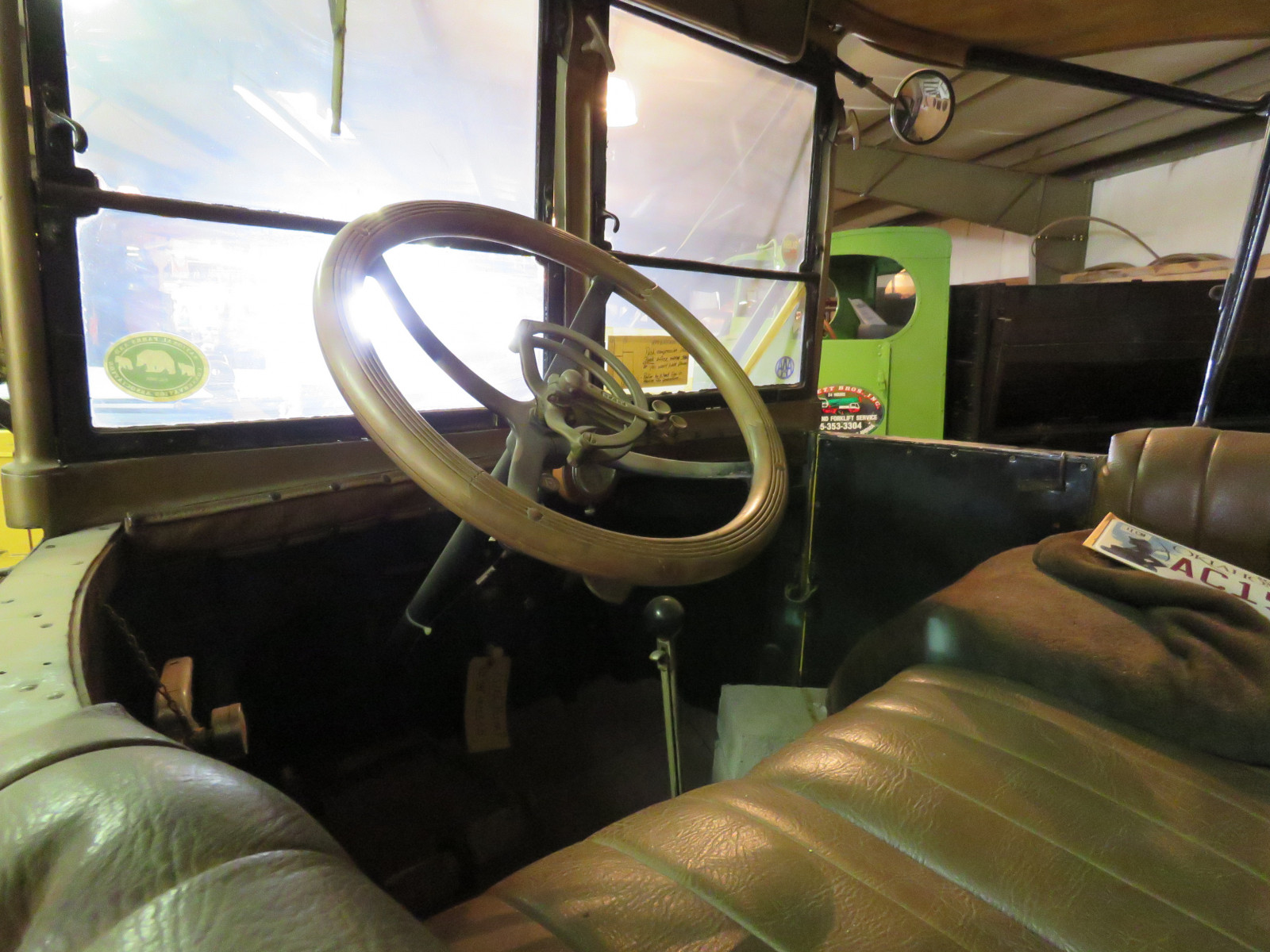 RARE 1925 White Tourist Bus - Image 16