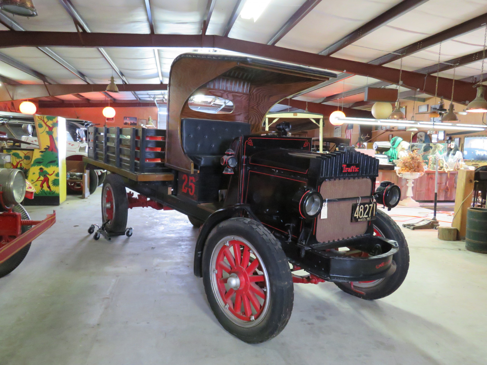 RARE 1917 Traffic 1 1/2 ton Stakebed Truck - Image 1