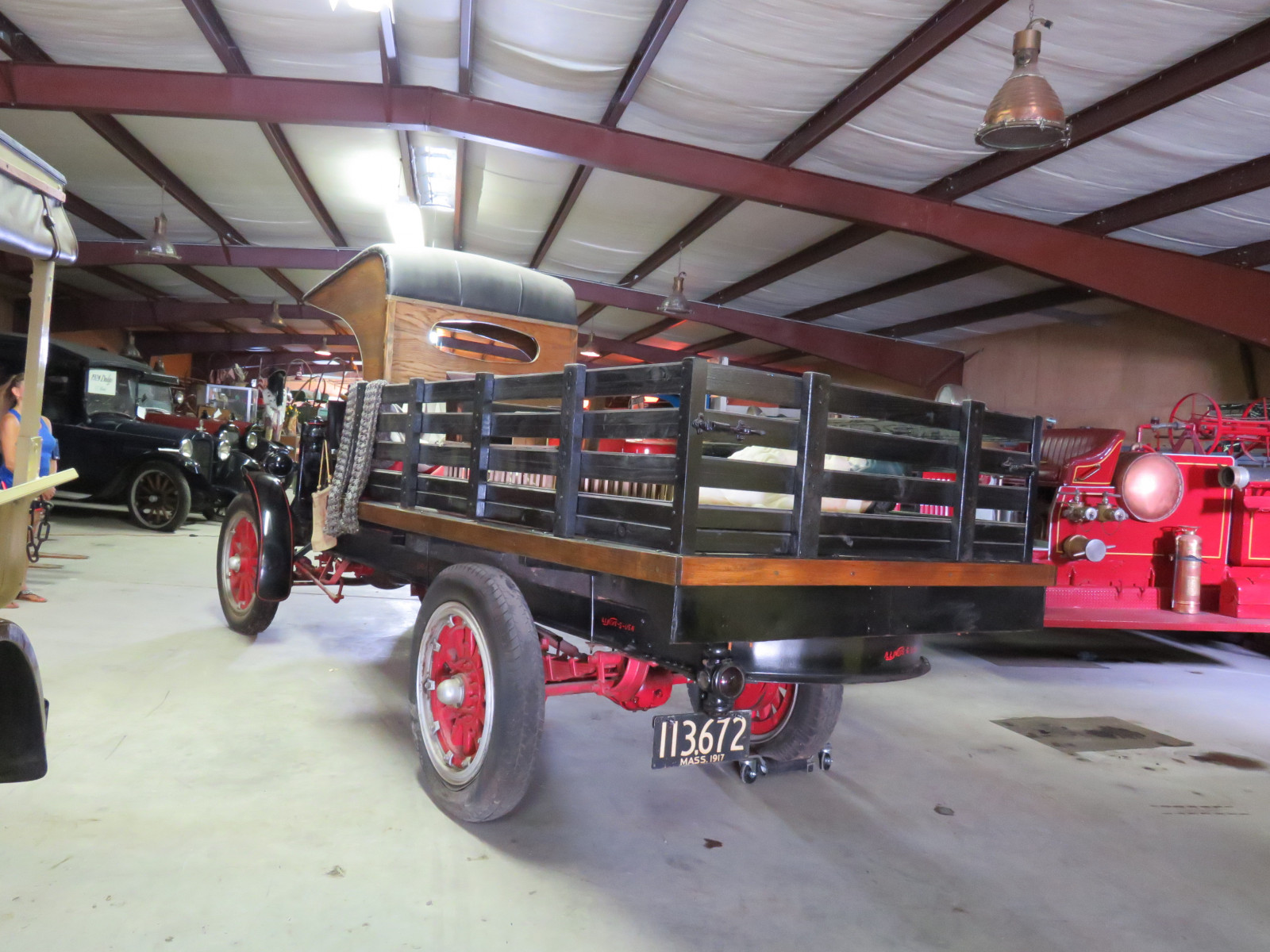 RARE 1917 Traffic 1 1/2 ton Stakebed Truck - Image 4