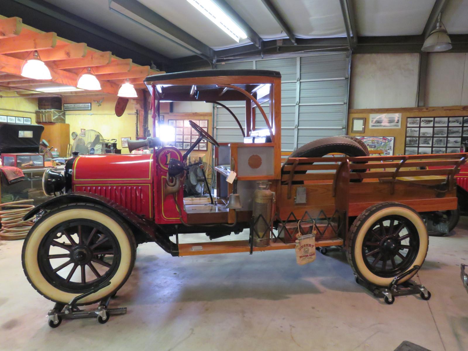 Texas Truck Sales >> Lot 47L – RARE 1918 REO Speedwagon Express Truck Fire ...