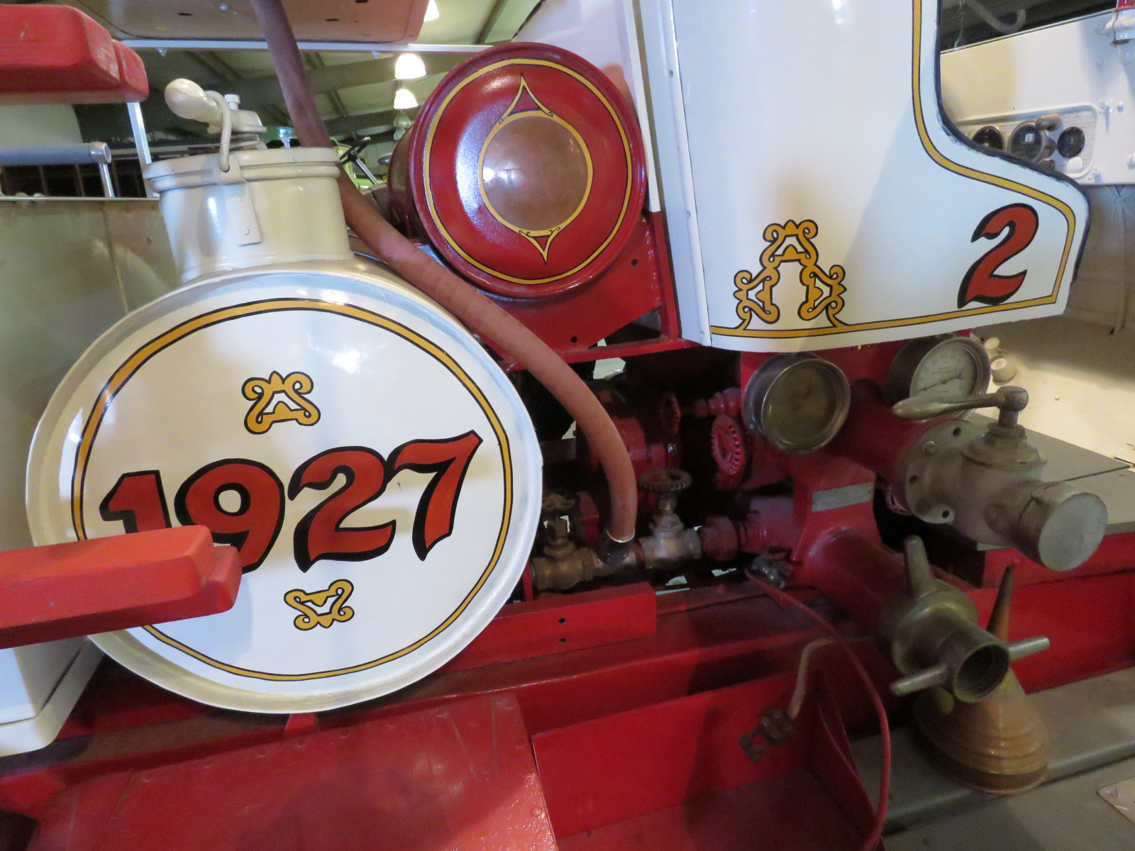 1927 REO Speed Wagon Fire Truck T6W99483 - Image 8